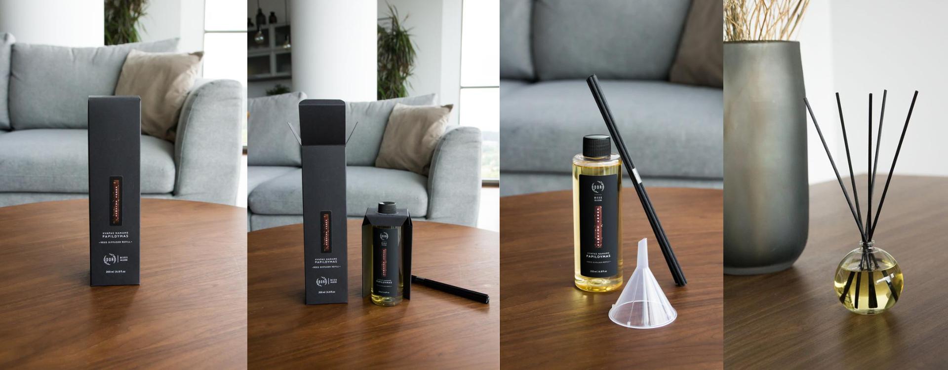 odoro home fragrance refiller