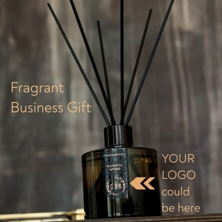 Make a home fragrance with your company logo. It will be a gift that will impress, remind your business for up to 5 months and will make a close association with a wonderful fragrance.  #odorofragrances #odoro #odorohomefragrances #odorofamily #privatelabel #privatelabelfragrance #fragrancemanufacturer #homefragrance #reeddiffuser#yourlogocouldbehere #businessgiftideas #christmasgiftsidea #companygift